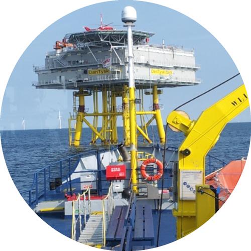 Rederij-groen-guard-vessel