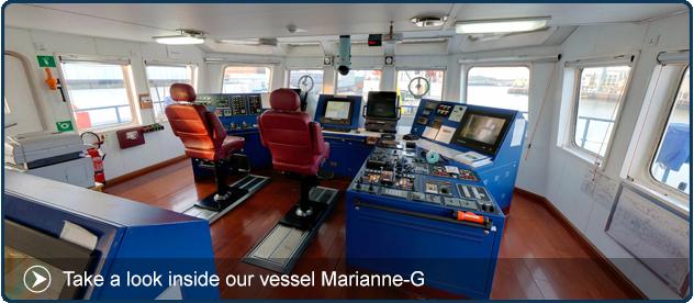 Vessel Marianne-G 360 tour
